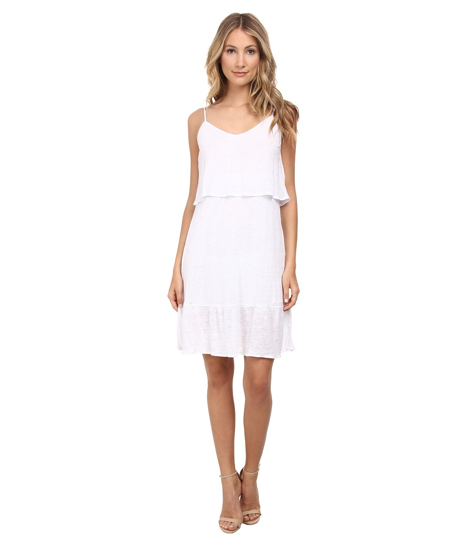 C&C California - Ruffle Sundress (White) Women's Dress
