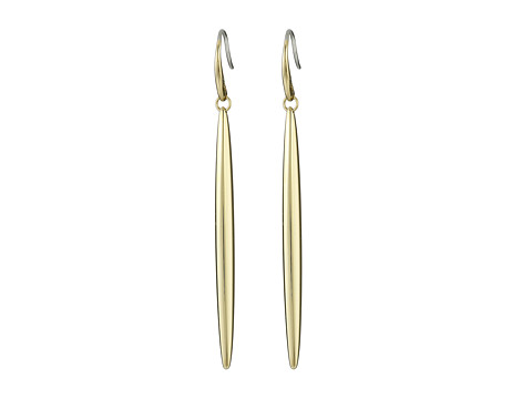 Michael Kors - Statement Matchstick Drop Earrings (Gold) Earring
