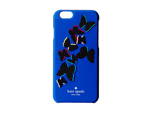 Kate Spade New York - Butterfly Resin iPhone 6 (Lapis Blue) Cell Phone Case