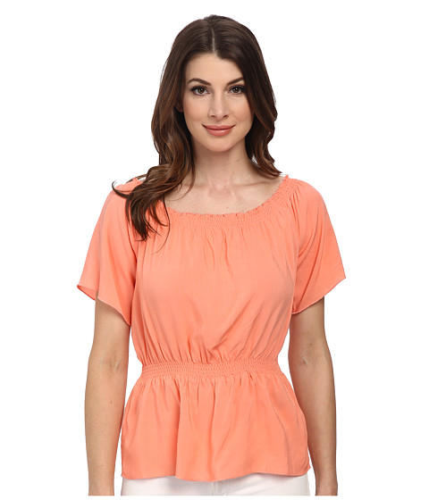 C&C California - Off Shoulder Solid Top (Desert Flower) Women's Blouse