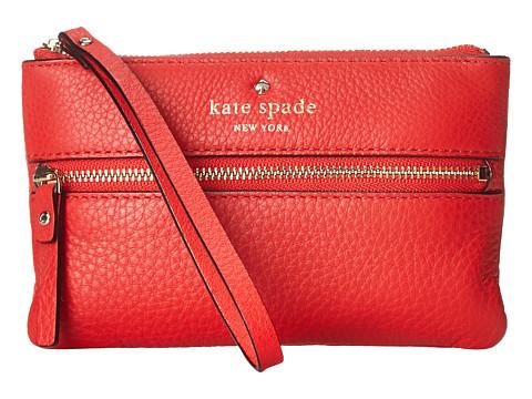 Kate Spade New York - Cobble Hill Bee (Cherry Liqueur) Wristlet Handbags
