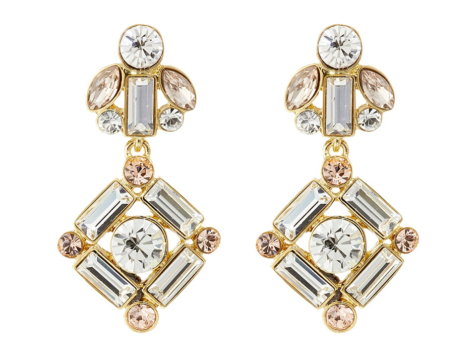 Kate Spade New York - Cocktails Conversation Drop Earrings (Neutral Multi) Earring
