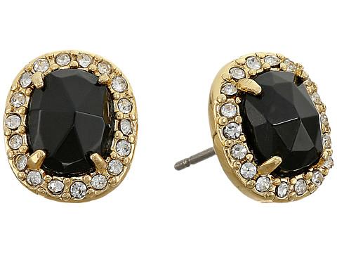 Kate Spade New York - Park Lex Studs Earrings (Black) Earring