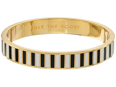 Kate Spade New York - Idiom Bangles Rule The Roost - Hinged Bracelet (Black/Multi) Bracelet