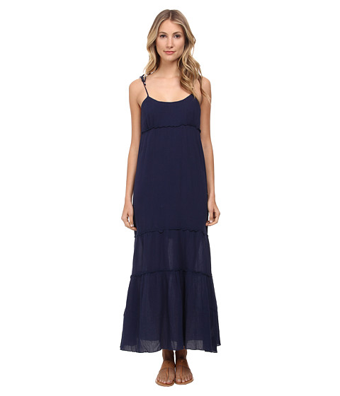 C&C California - Tiered Maxi Dress (Navy) Women