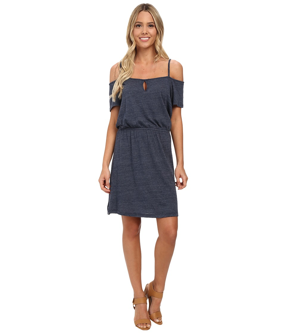 C&C California - Off Shoulder Sundress (Navy) Women's Dress
