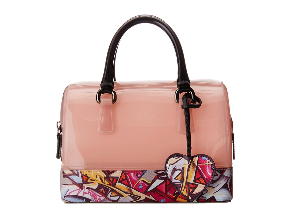 Furla - Candy Cookie Mini Satchel (Winter Rose/Pinky) Satchel Handbags