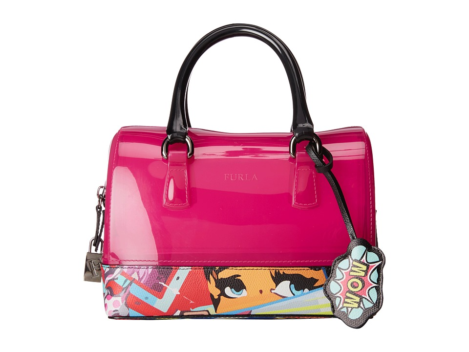 Furla - Candy Cookie Mini Satchel (Gloss/Multicolor) Satchel Handbags