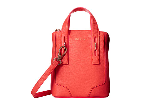Furla - Perla Mini Crossbody Tote (Color Neon) Tote Handbags