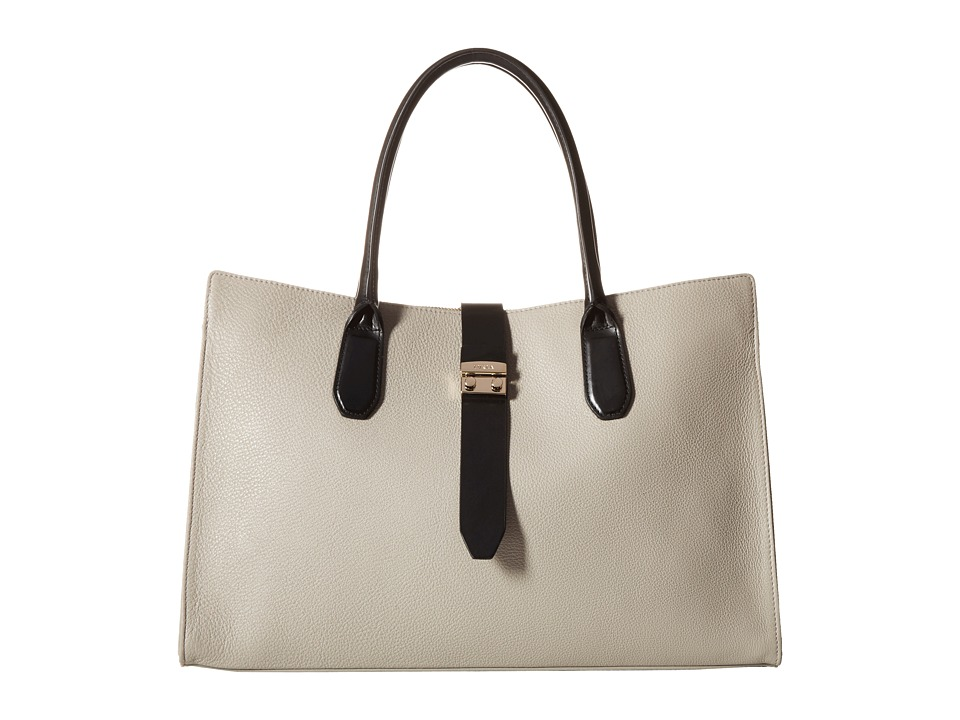 Furla - Flair Large Tote w/ Turnlock (Stucco) Tote Handbags