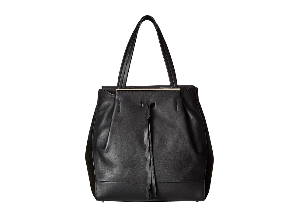 Furla - Twist Medium Tote/Drawstring (Onyx) Drawstring Handbags