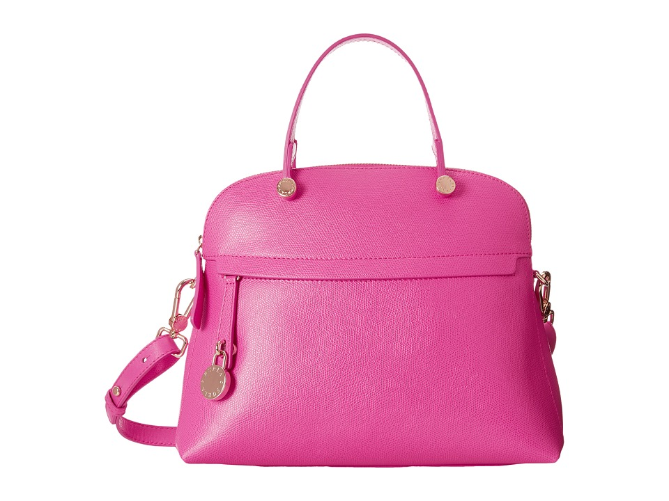 Furla - Piper Medium Dome (Pinky) Satchel Handbags