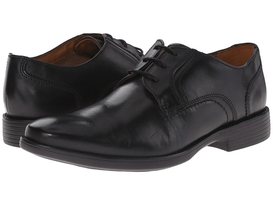 Bostonian - Wurster Plain (Black Leather) Men's Plain Toe Shoes