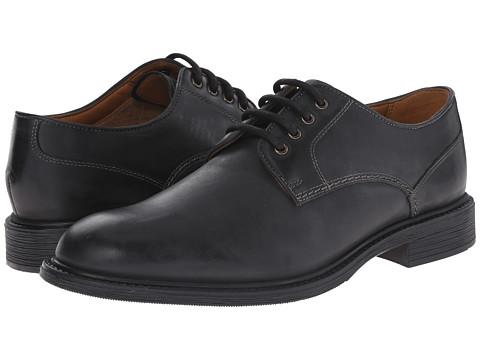 Bostonian - Wakeman Walk (Black Smooth Leather) Men's Plain Toe Shoes