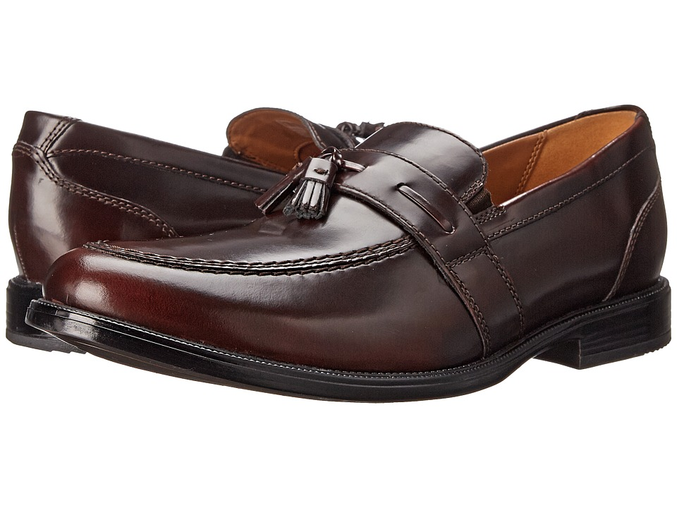 Bostonian - Kinnon Step (Burgundy Leather) Men