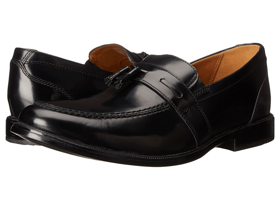 Bostonian - Kinnon Step (Black Leather) Men