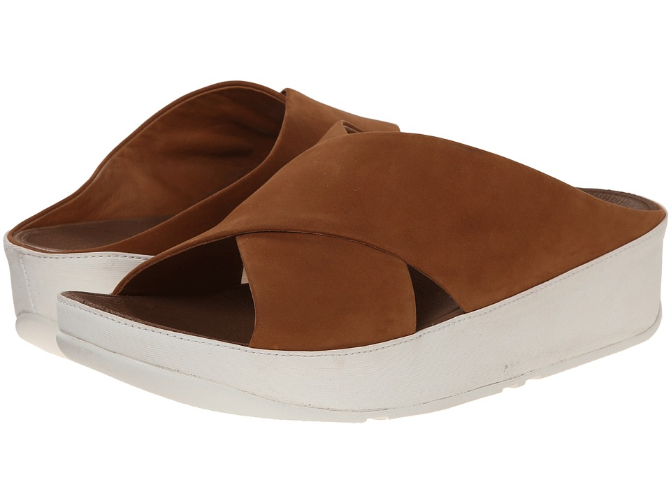 FitFlop - Kys Nubuck (Tan) Women's Sandals