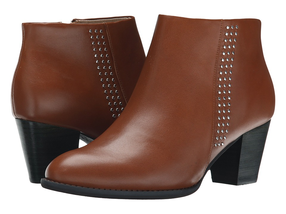 VIONIC - Georgia Ankle Boot (Cinnamon) Women