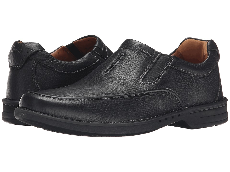 Clarks Untilary Easy (Black Leather) Men