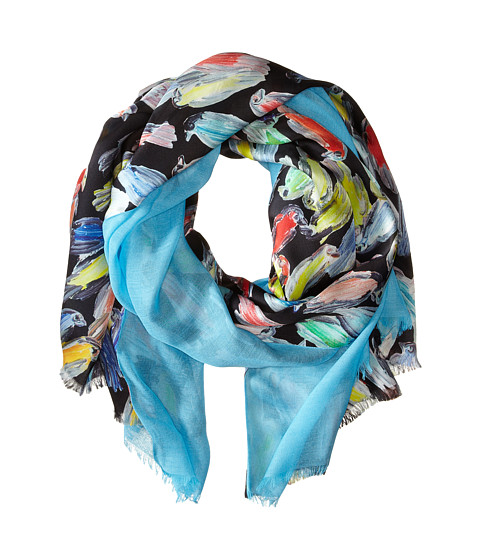 Echo Design - Finches Scarf (Black) Scarves