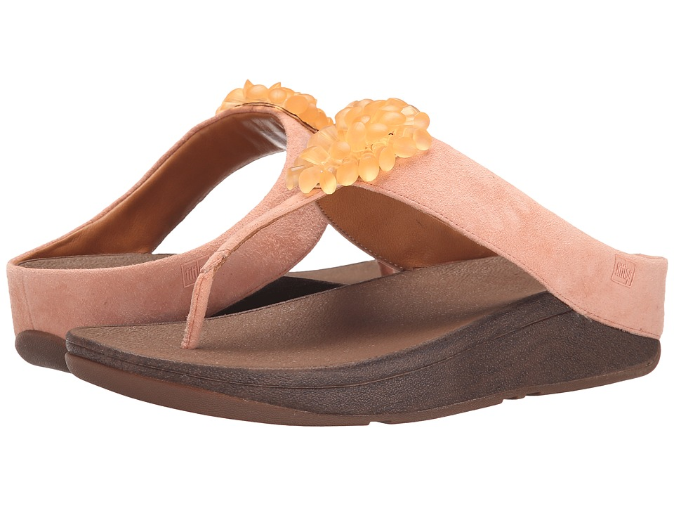 FitFlop - Blossomtm II (Flamingo) Women's Sandals plus size,  plus size fashion plus size appare