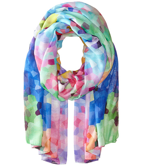 Echo Design - Crystalized Art Wrap (Multi) Scarves