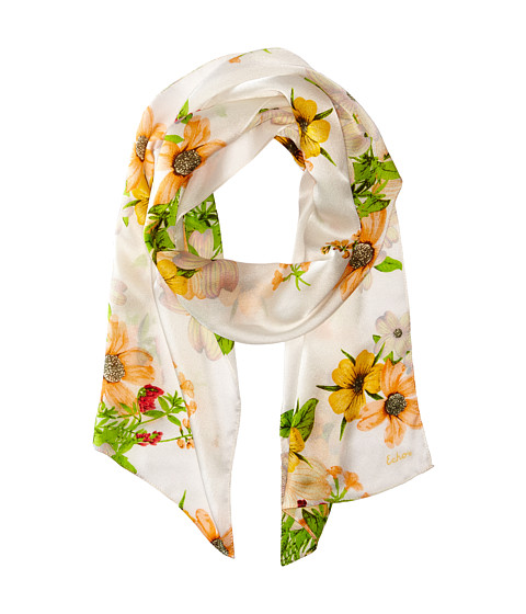 Echo Design - Wild Bouquet Scarf (White) Scarves