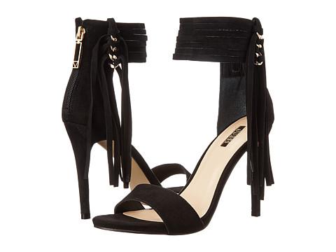 GUESS - Carlene (Black Suede) High Heels