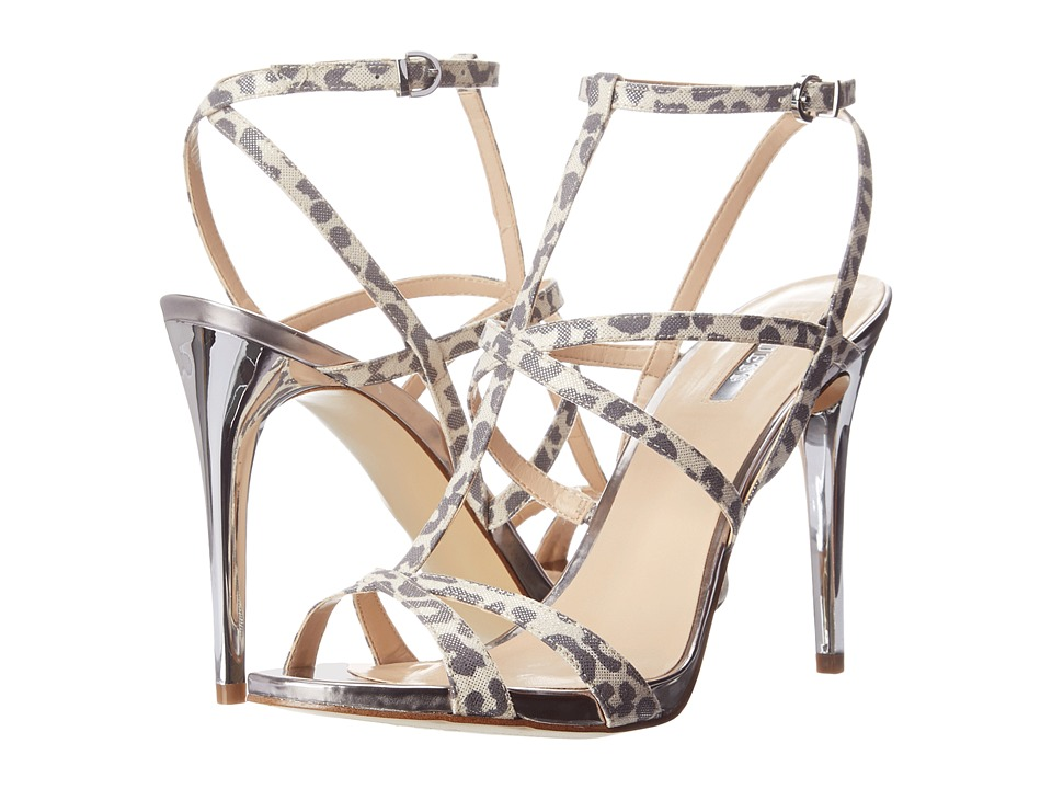 GUESS - Carnney (Silver Fabric) High Heels