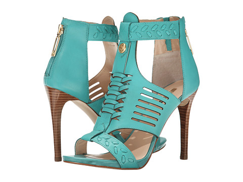 GUESS - Corale (Blue Leather) High Heels