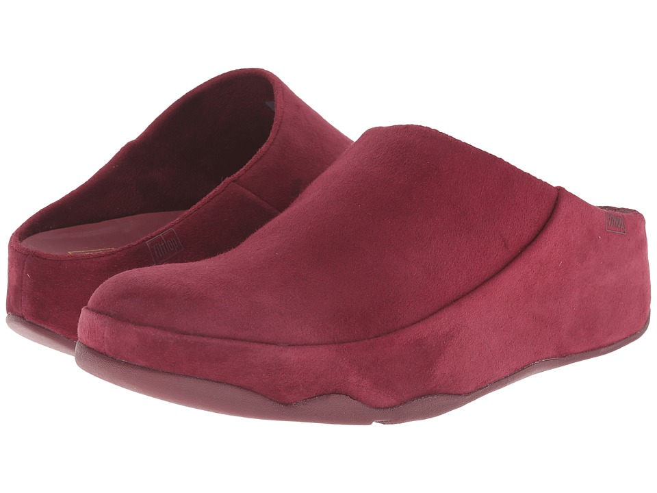 FitFlop - Gogh Moc (Hot Cherry) Women's Clog Shoes