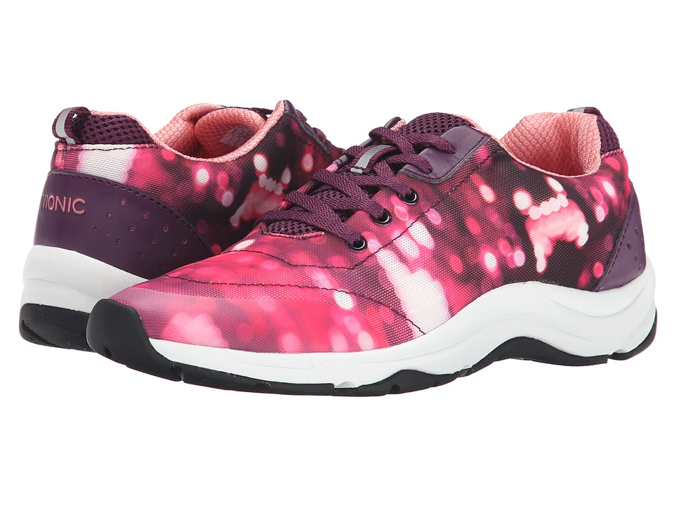 VIONIC - Action Tourney Lace Up (Pink Purple) Women's Lace up casual Shoes