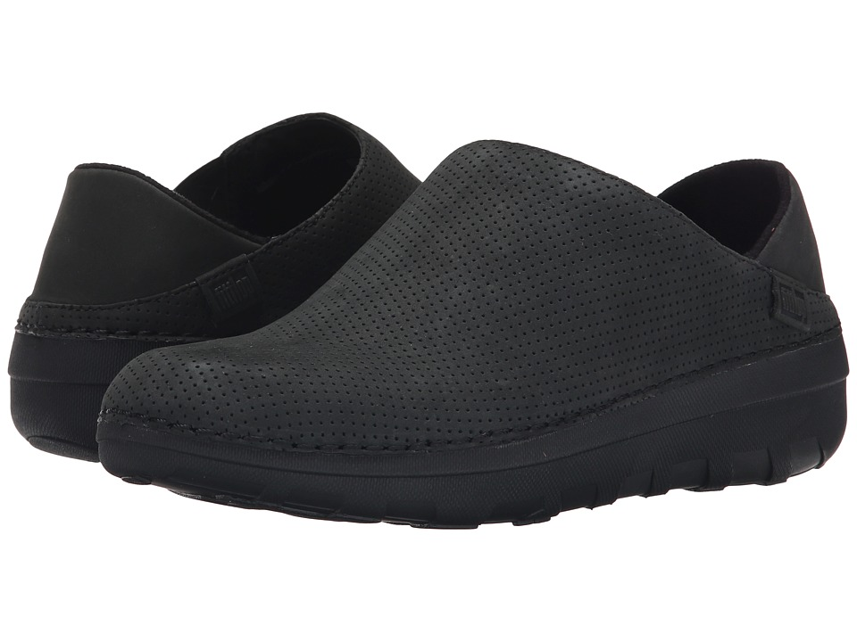 FitFlop - Superloafer Nubuck (Black) Women