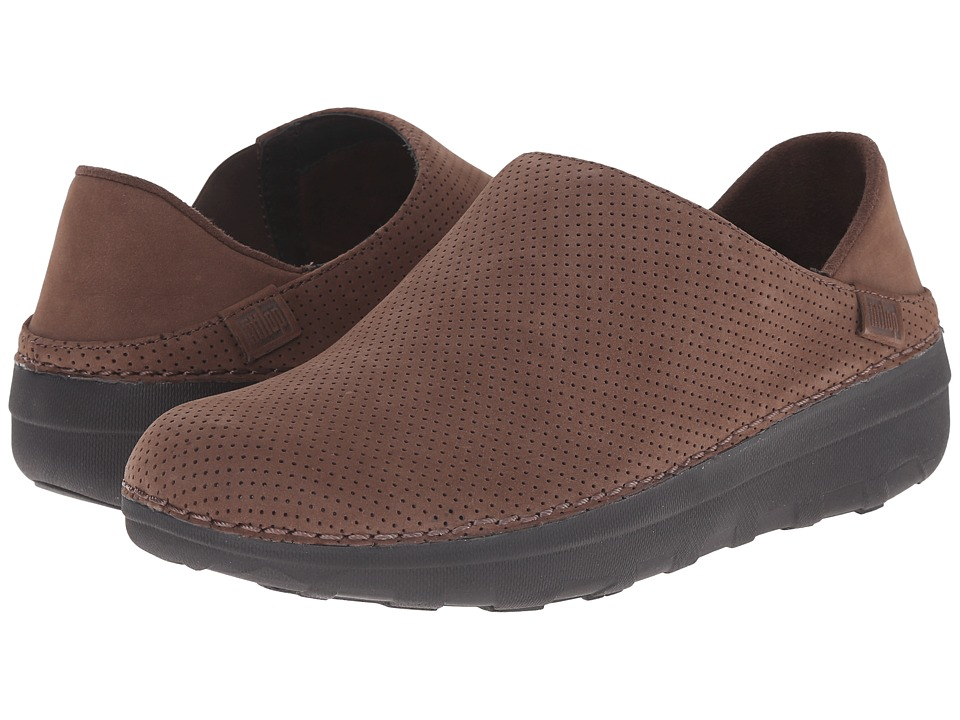 FitFlop - Superloafer Nubuck (Chocolate Brown) Women