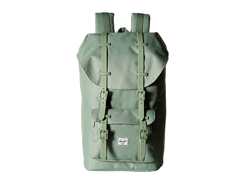 Herschel Supply Co. - Little America (Foliage/Foliage Rubber) Backpack Bags