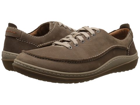 Clarks - Gait Mix (Wolf Nubuck) Men's Lace up casual Shoes