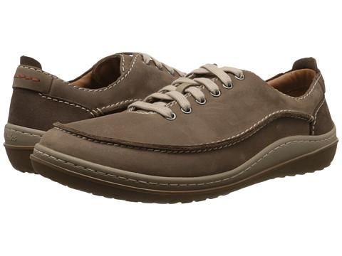 Clarks - Gait Mix (Wolf Nubuck) Men's Lace up casual Shoes