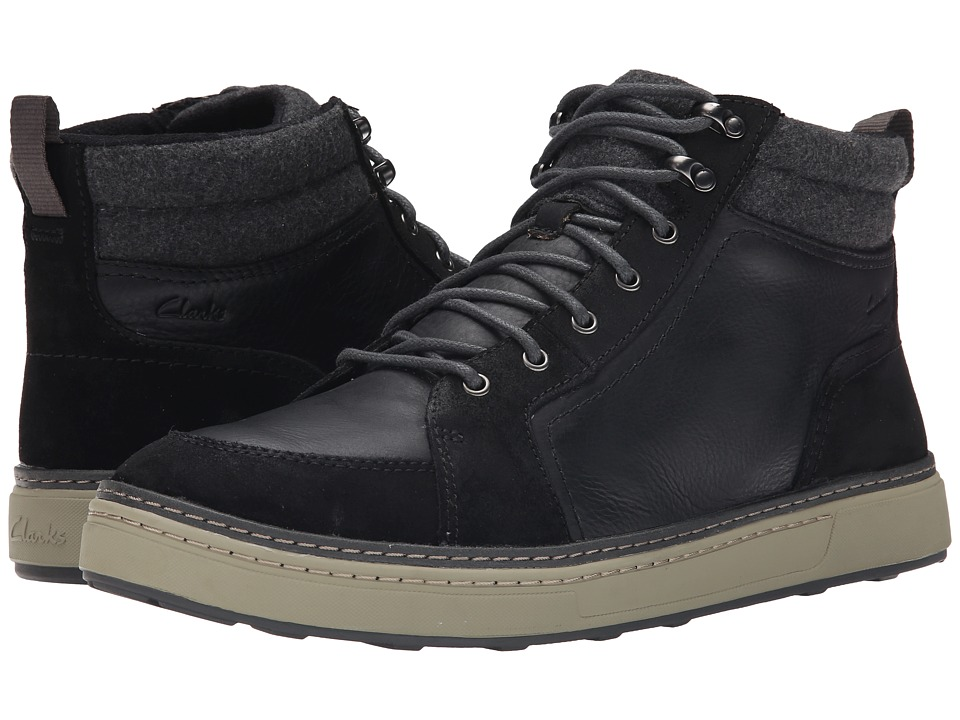 Clarks - Lorsen Top (Black Warm Lined) Men