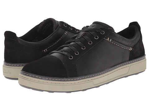 Clarks - Lorsen Edge (Black Combi Leather) Men