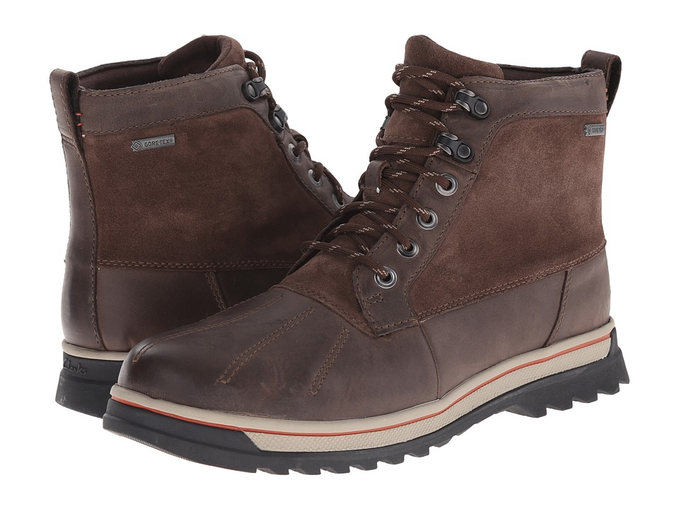 Clarks RipwayTrail GTX (Mushroom Leather) Men