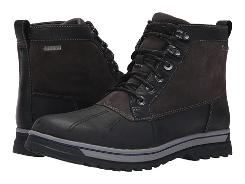Clarks - RipwayTrail GTX (Black Leather) Men
