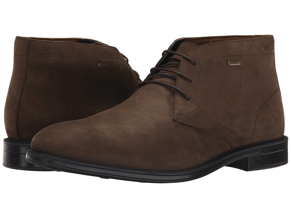 Clarks - Chilver Hi GTX (Dark Brown) Men's Boots