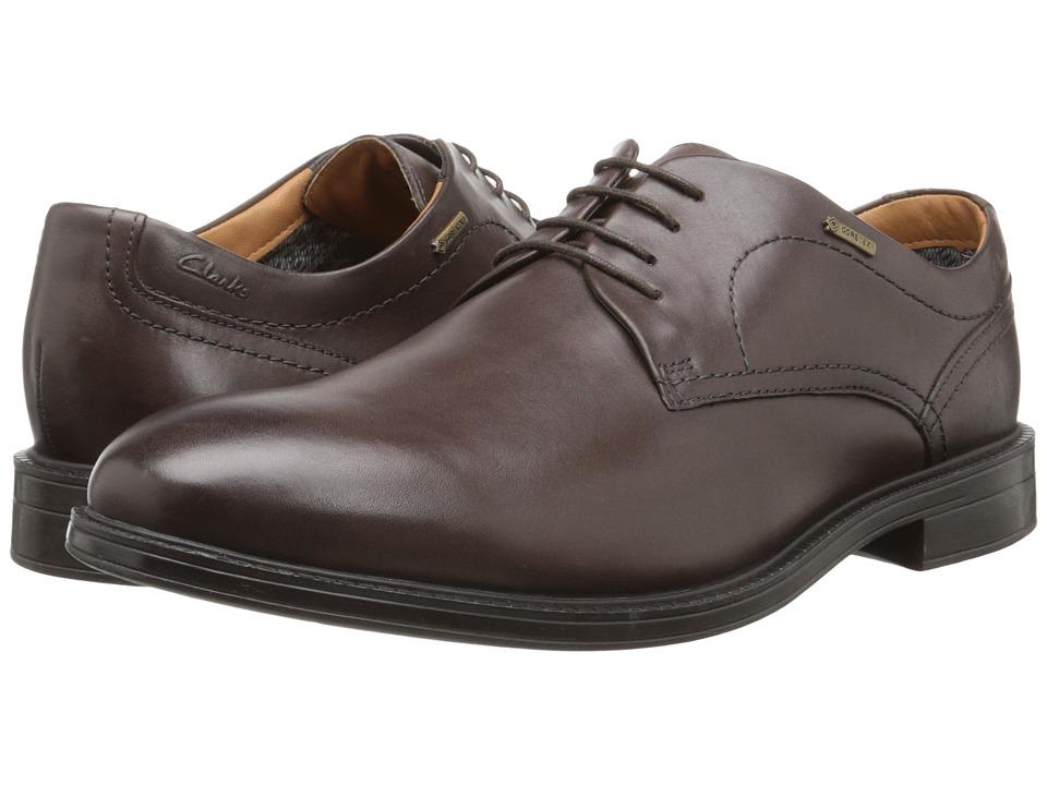 Clarks - ChilverWalk GTX (Dark Brown Leather) Men