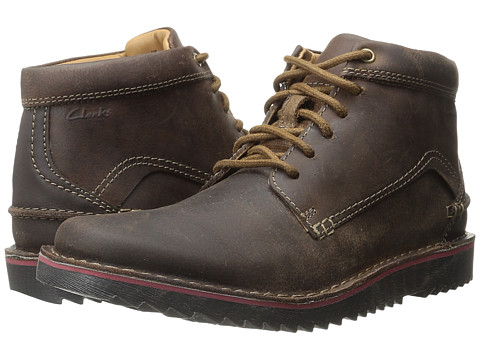 Clarks - Remsen Hi (Brown Leather) Men's Boots