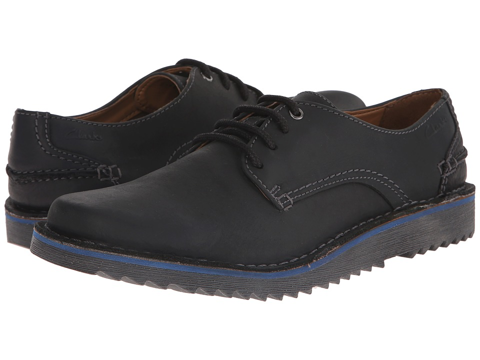 Clarks - Remsen Limit (Black Leather) Men