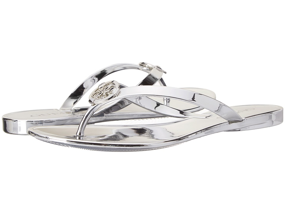 GUESS - Jamarra (Silver Jelly) Women's Sandals