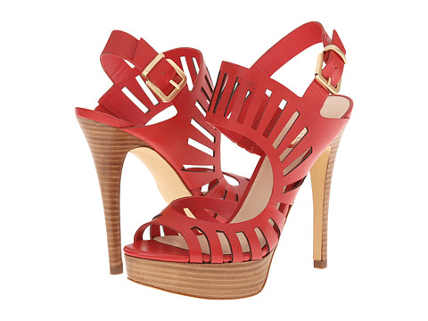 GUESS - Kabirra (Red Leather) High Heels
