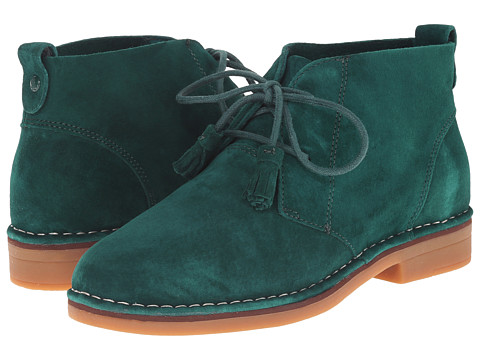 Hush Puppies - Cyra Catelyn (Forest Green Suede) Women
