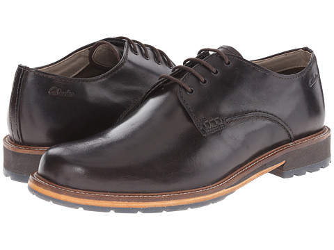 Clarks - Arton Walk (Dark Brown Leather) Men