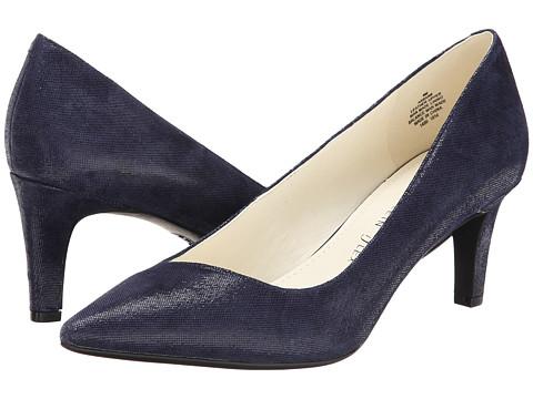 Anne Klein - Barb (Navy Twinkle Leather) High Heels